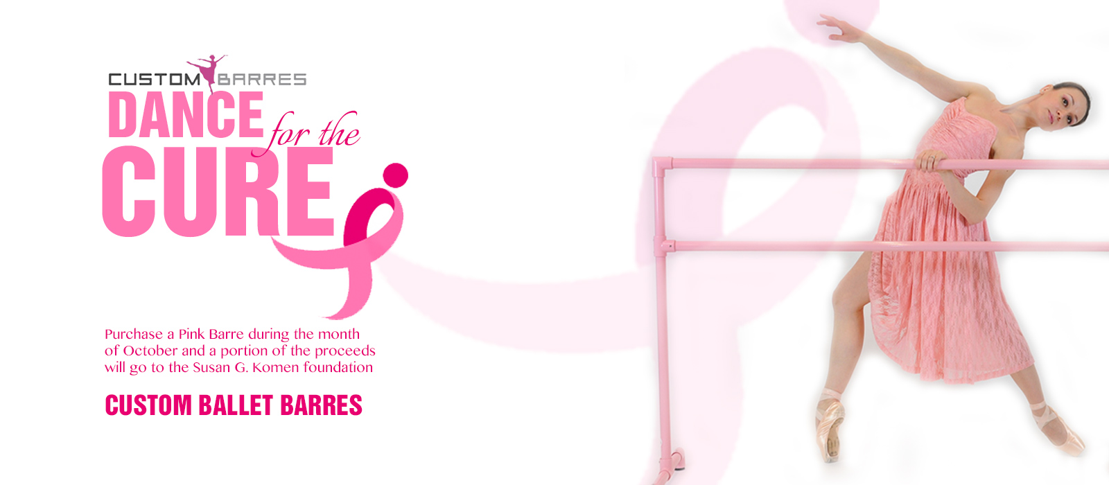 custom barres supports  the fight against breast cancer