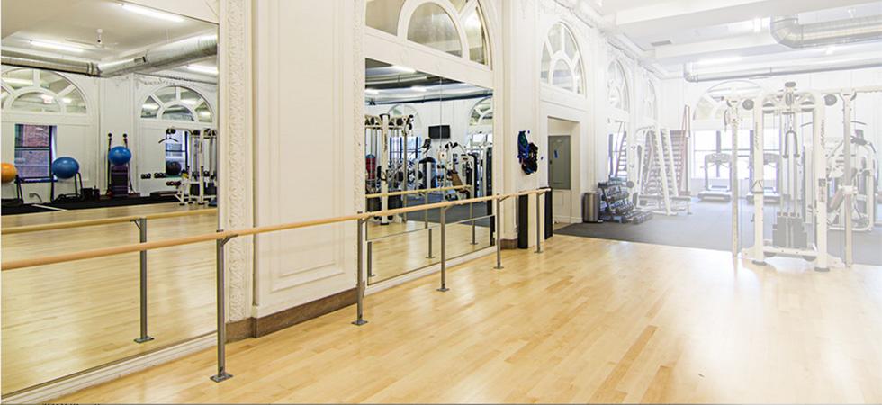 Floor Mounted Barres by Custom Barres