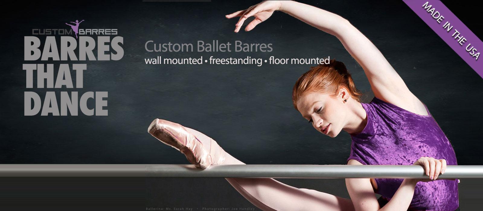 ballet barre, ballet barres, fitness barres, stretch barres