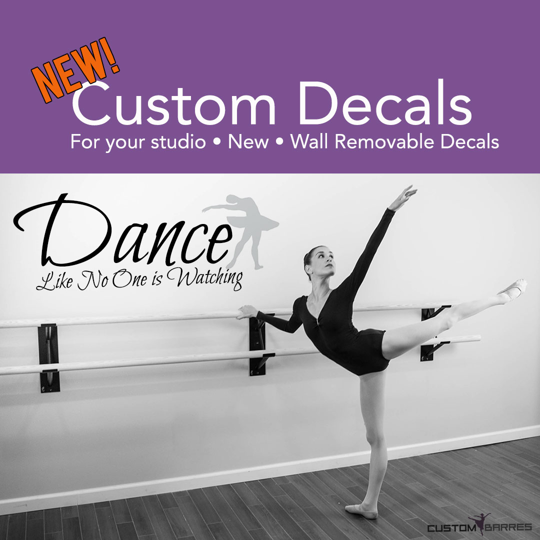 Dance Quote Wall Decal, Dance Wall Art