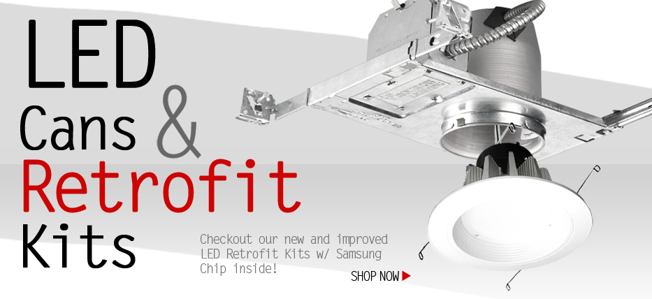 LED Cans And Retrofit Kits