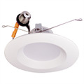 "6"" & 5""  LED Recessed Baffled Retrofit Kit Reflector 3000K"