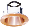 "(OR4/COPPER) 4"" Line Voltage Open Reflector With Bracket"