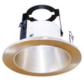 "(OR4/SATIN NICKEL) 4"" Line Voltage Open Reflector With Bracket"