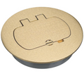 (E97BRR) Carlon Brass Floor Box Cover Kit ( On Special )