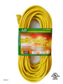 Extension cord  color: yellow  length: 100 feet  waist packing  (E/100/12-3)