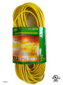 Extension cord UL  color: yellow  length: 100 feet  waist packing  (E/100/14-3) UL