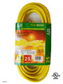 E/25/16-3  Extension Cord UL  length: 25 foot  color: yellow
