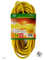 Extension cord  color: yellow  length: 50 feet  waist packing  (E/50/14-3)