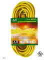 Extension cord  color: yellow  length: 50 feet  waist packing  (E/50/16-3)