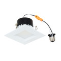 "(A4/LED/4000K/SQUARE) 4"" LED Recessed Retrofit Kit Square Baffled 4000K"