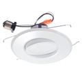 "6"" LED Recessed Retrofit Kit Adjustable Gimbal Dimmable 3000K"