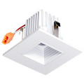"2"" LED Recessed Retrofit Kit Square -baffle 3000K  (Dimmable)"