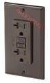 GFCI 20Amp Tamper Resistant UL2008 w/ LED Brown
