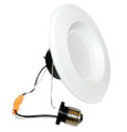 "6"" & 5""  LED Recessed Baffled Retrofit Kit Reflector 4000K 2-Pack"