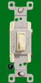 (S3A) Three Way Toggle Switch 15A Almond