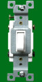 (S4W) Four Way Toggle Switch 15A White