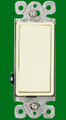(SDA) Decorative Single Pole Switch 15A Almond