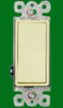 (SDI) Decorative Single Pole Switch 15A Ivory