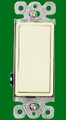 (S3DA) Decorative 3-Way Switch 15A Almond