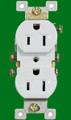 (RW) Standard Duplex Receptacle 15Amp White