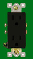 (RDBRN) Decorative Duplex Receptacle 15Amp Brown