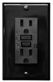 (GFCI/15/LED/BLK/2003) GFCI 15Amp UL2003 w/ LED Black