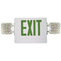 (CG) Combination Emergency & Exit Light Green