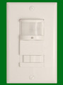 (OS2105/WHITE) Occupancy/Vacancy Sensor (Auto On Auto Off) or (Manual on Auto off) Operation White
