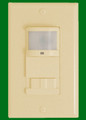 (OS2105/IVORY) Occupancy/Vacancy Sensor (Auto On Auto Off) or (Manual on Auto off) Operation Ivory