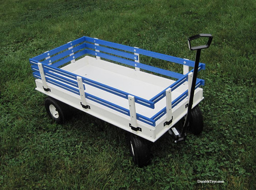 Hochstetler Poly Wagon with Racks in Ten Colors - Model 40