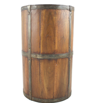 Handcrafted Rustic Wood Umbrella Stand Timbergirl