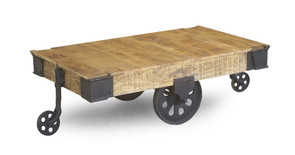 Industrial Factory Cart Table