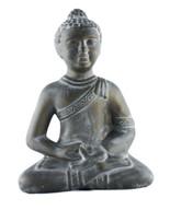 HandCrafted Ceramic Buddha statue - Bronze patina Finish