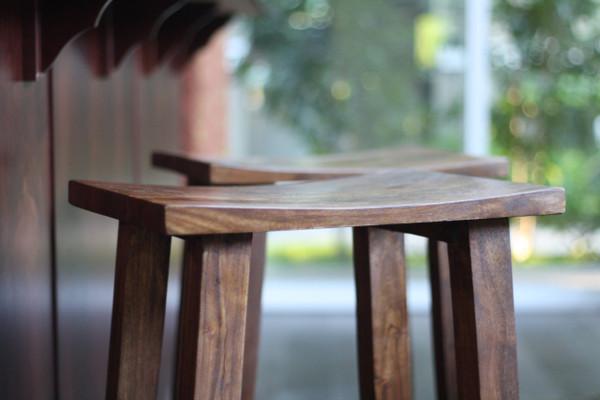 ... Wood Counter Stool - Medium. Image 1 & Solid Acacia Wood Counter Stool - Medium - Timbergirl islam-shia.org