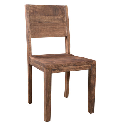 simple wooden dining chair. simple acacia wood dining chair - set of 2. image 1 wooden d