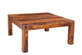 Solid Seesham Wood Cube Table