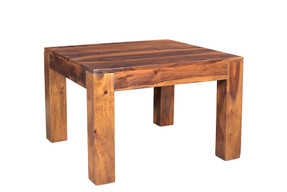 Solid Seesham wood Cube Small Coffee table