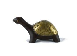 Handcrafted Wooden Turtle