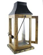 Wood Metal Lantern