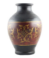 HANDTHROWN TERRACOTTA POT -1269