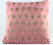 Velvet Cushion Cover - Pink