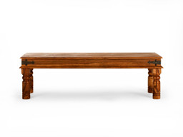 Timbergirl Handcrafted Thakat Rustic Bench