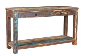 Timbergirl Old reclaimed wood Console Table 3