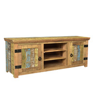 Suman Solid Mango wood TV Console