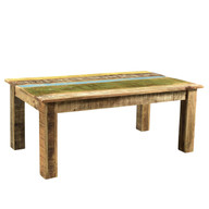 Suman Solid Mango wood Coffee Table