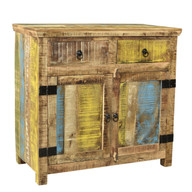 Suman Solid Mango wood 2 Door Sideboard