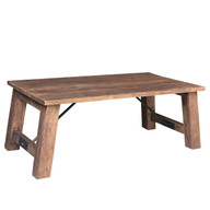 Timbergirl Angled Acacia wood Coffee Table