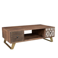 Timbergirl Olga Retro Coffee Table with drawers