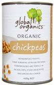 Global Organics Chick Peas 400gm